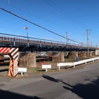 施工する橋